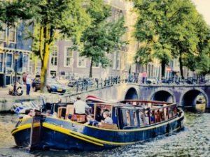 Bota Fogo Amsterdam Grachtenfahrt Grossgruppe