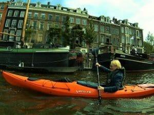 Amsterdam Kayak Tour Zeebaard