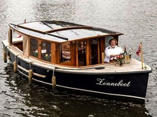 Zonneboot Salonboot mieten