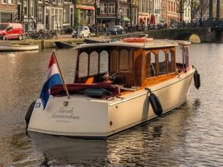 'Sarah': kleines Elektro-Salonboot