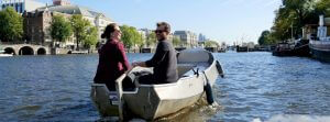 Self drive boat hire Amsterdam Boaty Boats4rent