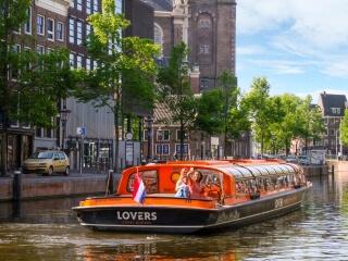 Günstigste Grachtenfahrt Amsterdam Rabattcode Lovers Bootsfahrt
