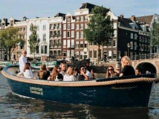 Offenes Boot für Privatgruppen 'Haarlemmerpoort'