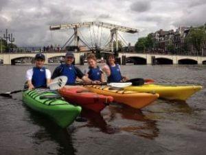 Kajakadoo Kayak Tours Amsterdam Canals