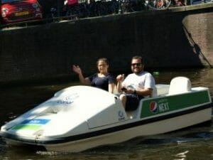 Pedal Boat Amsterdam Canal Bike by Stromma