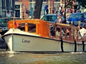 Private Boat Tour Amsterdam Saloon Boat De Lieve