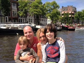 Grachtenfahrt auf den Grachten von Amsterdam