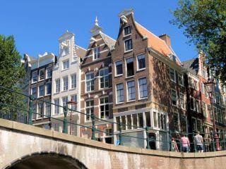 Grachtentour Amsterdam Kanaltour mit einem Grachtenboot