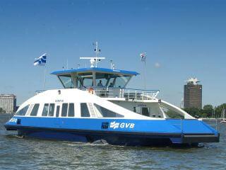 Gratis Hafenfahrt Fähre Hafen Amsterdam