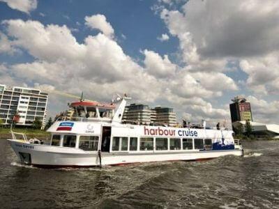 Hafenrundfahrt Amsterdam mit Pfannkuchenschiff oder Harbour Cruise