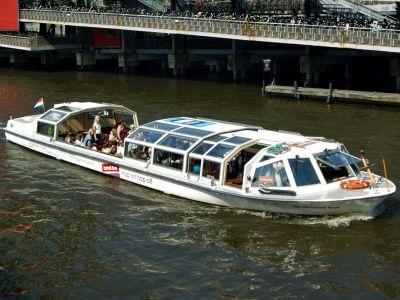 Hop on hop off Grachtenfahrt Amsterdam unbeschränkt auf den Grachten fahren
