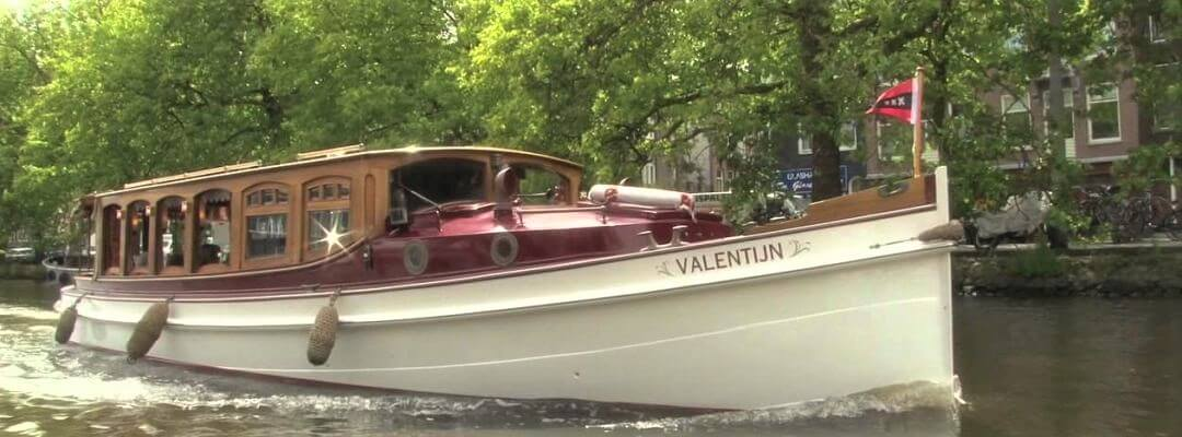 Private Bootstour Grachten Amsterdam Luxus Salonboot
