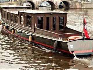 'HRH' salonboot private Bootsfahrt in modernem Luxus